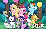 miniatura puzzle My Little Pony online nr 15