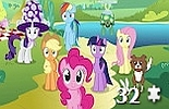 miniatura puzzle My Little Pony online nr 17