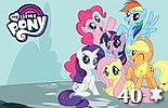 miniatura puzzle My Little Pony online nr 6