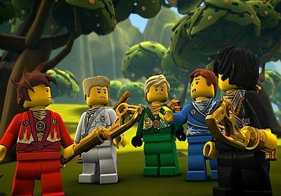 Puzzle Online Lego Ninjago Wojownicy Ninja Nr 28